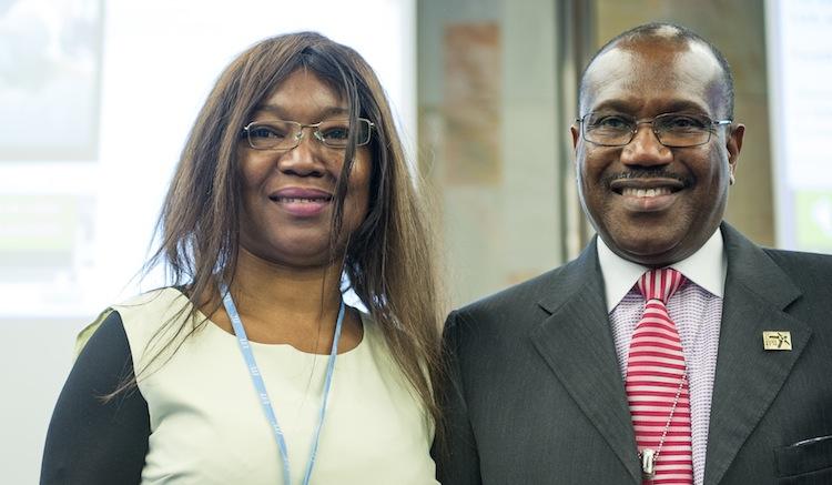 WSIS, Madeleine et Dr Touré, réduit